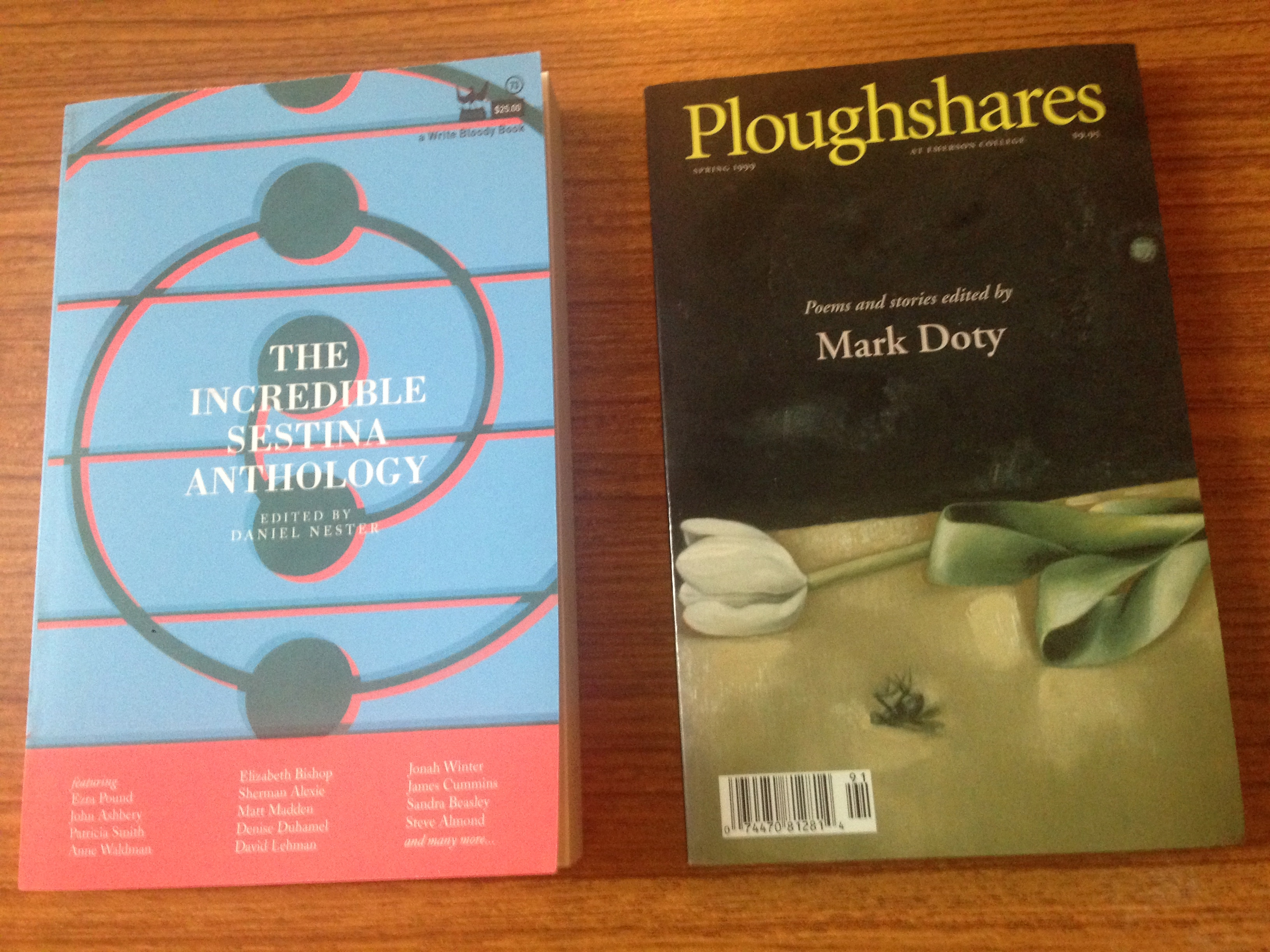 Ploughshares Spring 1999 Guest-Edited by Mark Doty