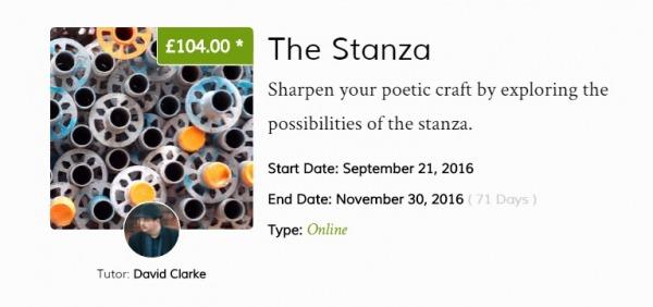 The Stanza splash
